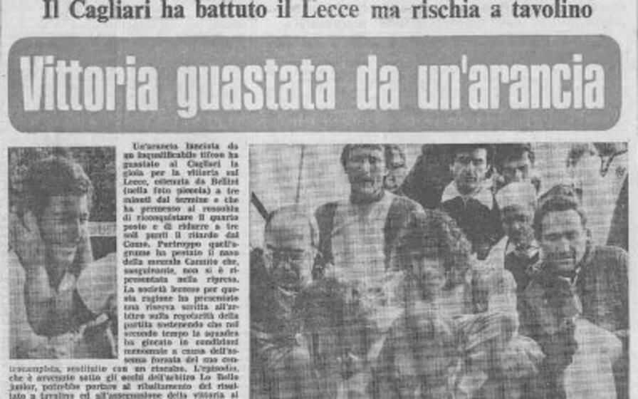 la prima pagine dell informatore del liuned del 21 marzo 1977