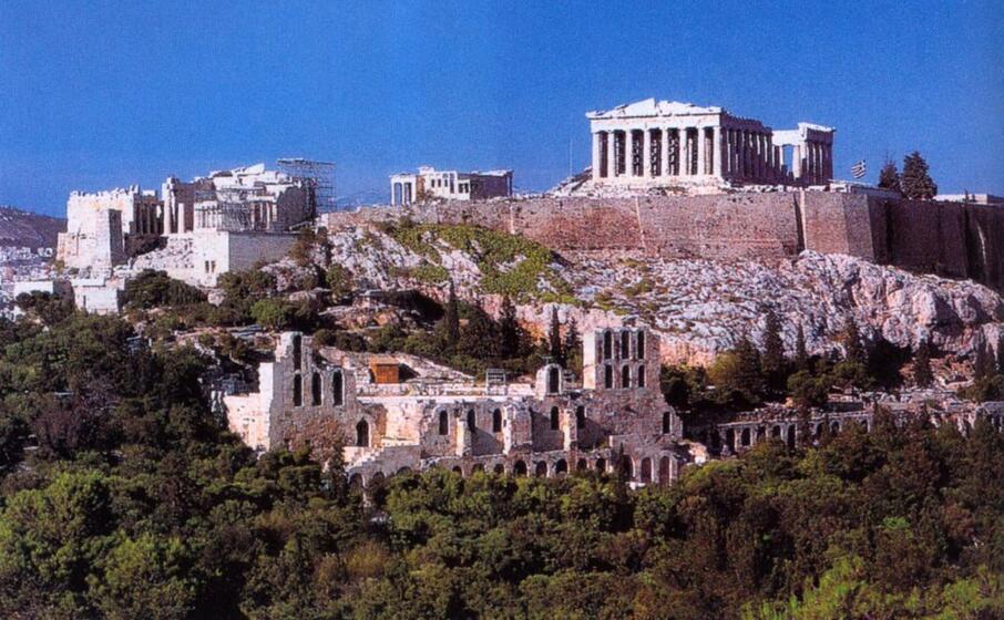 l acropoli di atene