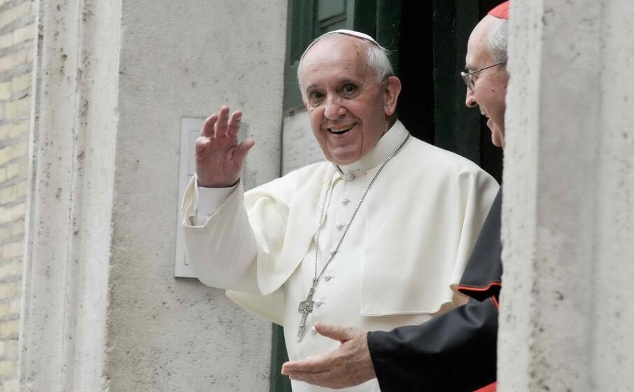 Francesco arriverà a Cagliari in '500' Dieci ore di visita ...