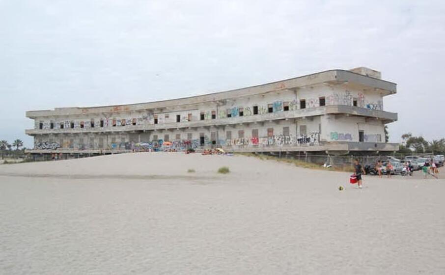 l ex ospedale marino come si presenta oggi