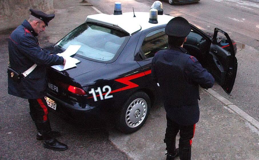 l uomo stato arrestato dai carabinieri