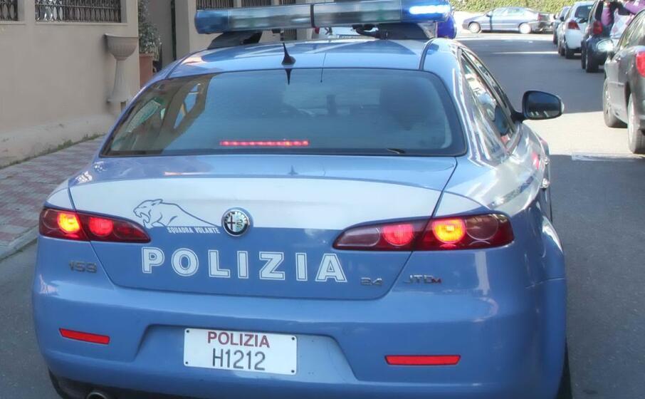 un auto della polizia