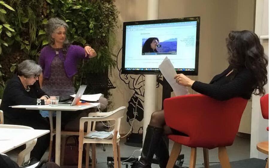 la presentazione del web doc al fandango incontri di roma