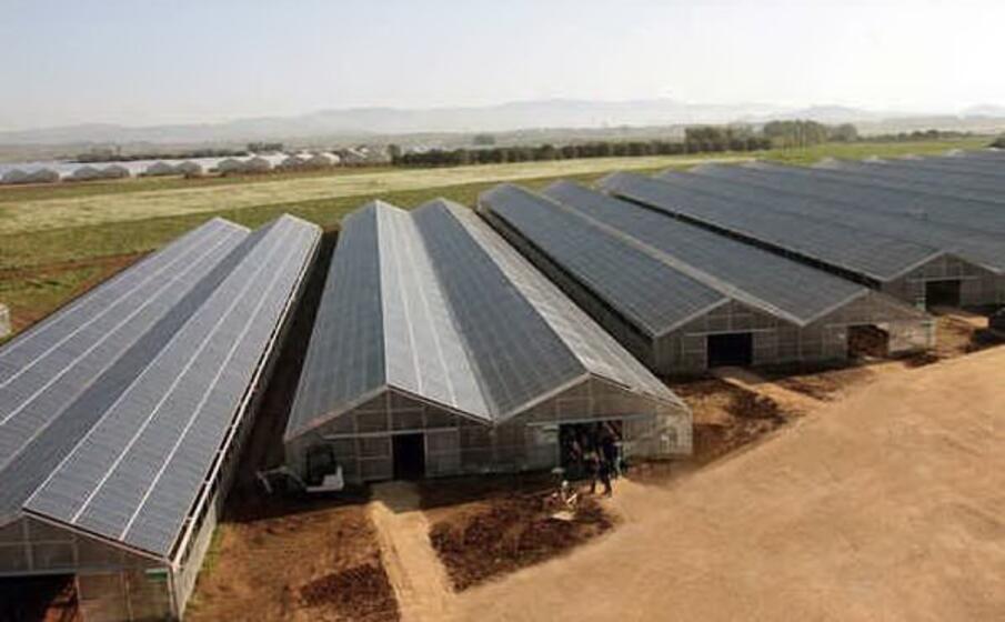la serra fotovoltaica di villasori