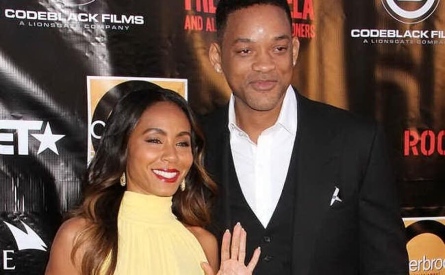 will smith e la moglie jada pinkett