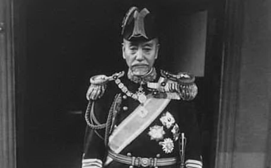 il presunto ammiraglio togo