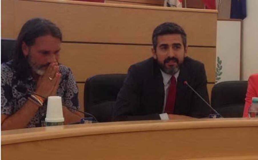 sindaco wheeler con il deputato fraccaro ideatore del progetto