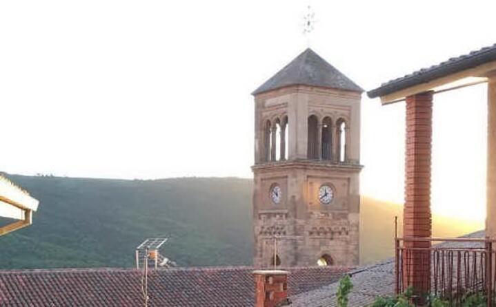 tramonto sul campanile lo scatto di framarotto