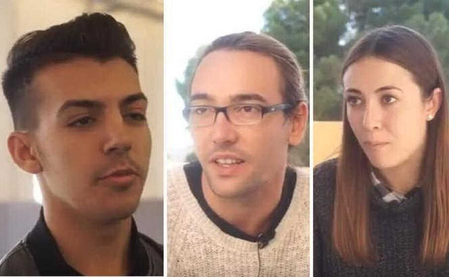 alcuni dei ragazzi intervistati
