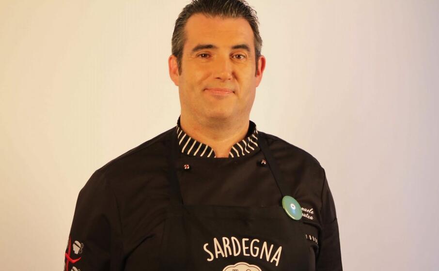lo chef emanuele fanutza del ristorante letizia di nuxis