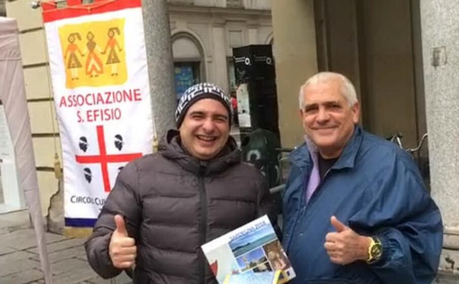 il comitato ha allestito un analoga iniziativa anche in altre parti d italia qui a torino