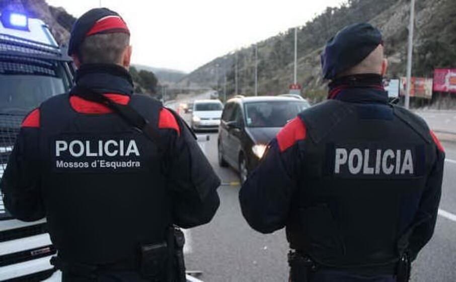 la polizia catalana