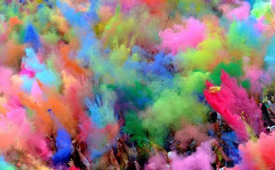 i colori dell holi colors festival