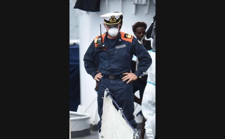 massimo kothmeir comandante della nave diciotti