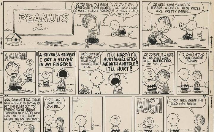 accaddeoggi 2 ottobre 1950 esce per la prima volta in edicola peanuts (ansa)