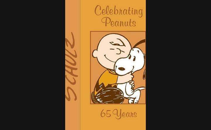 charlie brown con snoopy nella copertina che celebra i 65 anni di peanuts (ansa)