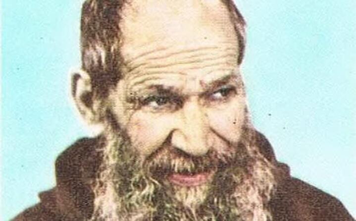 accaddeoggi 3 ottobre 1999 fra nicola da gesturi viene dichiarato beato da giovanni paolo ii (archivio unione sarda)