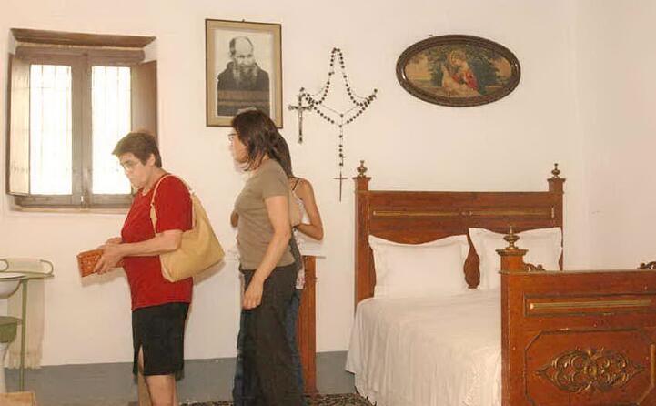 la casa di fra nicola (archivio unione sarda)