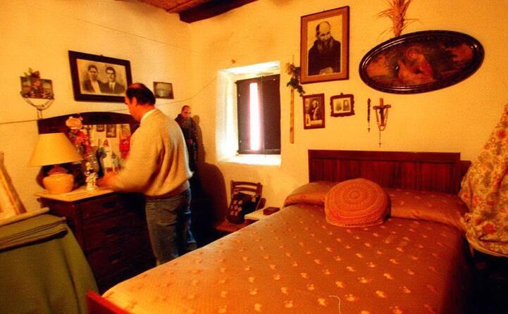 la stanza in cui nato nel 1882 (archivio unione sarda)
