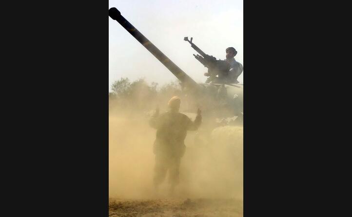 immagini di guerra (ansa)