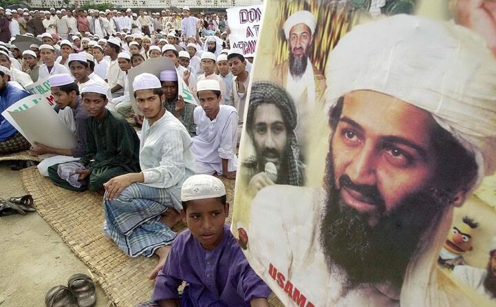obiettivo degli usa smantellare la rete dei talebani guidata da osama bin laden ritenuto responsabile dell attacco (ansa)