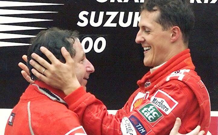 accaddeoggi 8 ottobre 2000 michael schumacher vince il gp di suzuka e riporta il mondiale in casa ferrari dopo 21 anni d attesa (ansa)