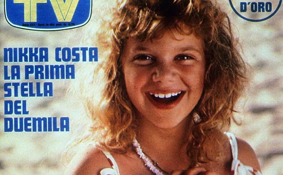 nikka costa ai tempi del suo esordio in italia (foto tv sorrisi e canzoni)