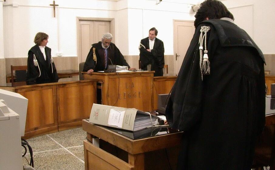 aula giudiziaria (archivio l unione sarda)