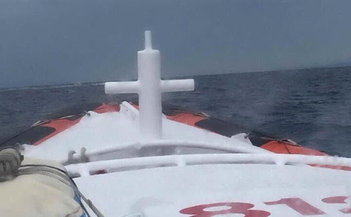 tragico sbarco di migranti nel sulcis (foto capitaneria di porto)