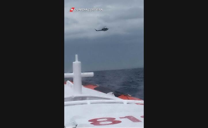 tre i sopravvissuti (foto capitaneria di porto)