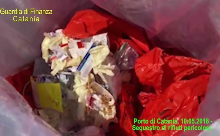 materiali pericolosi rilevati al porto di catania nel maggio di quest anno