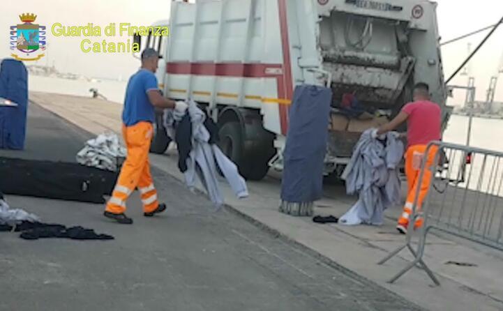 smaltimento dei rifiuti in merito all indagine sulla nave aquarius