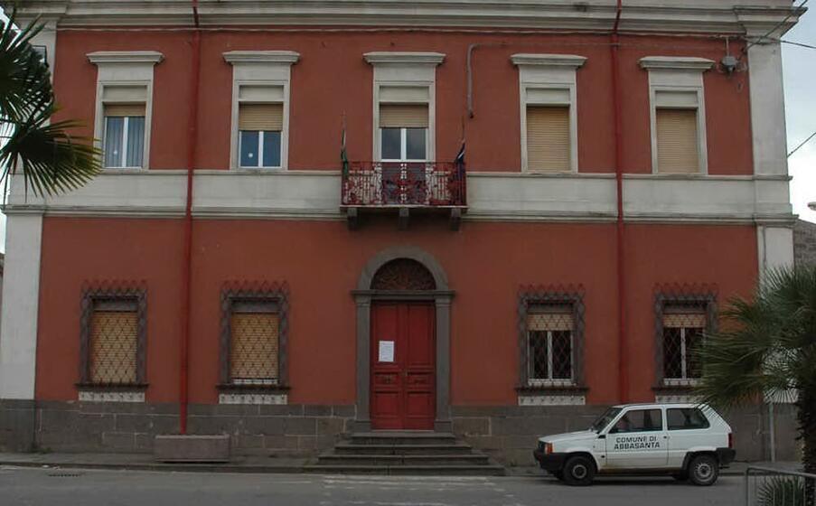 il comune di abbasanta (archivio l unione sarda)