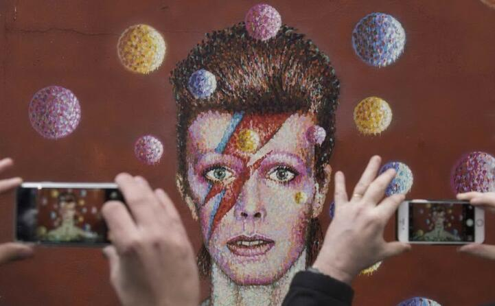 il successo arriva con l album the rise and fall of ziggy stardust and the spiders from mars