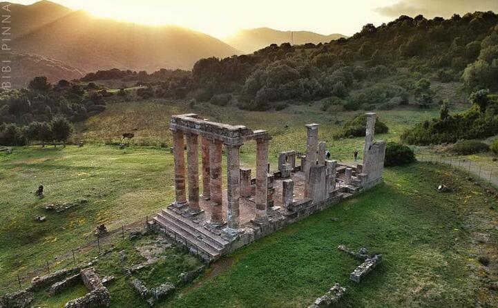 la maestosit del tempio di antas fabrizio_bibi_pinna ci porta a fluminimaggiore per ammirare una delle impronte della grande storia
