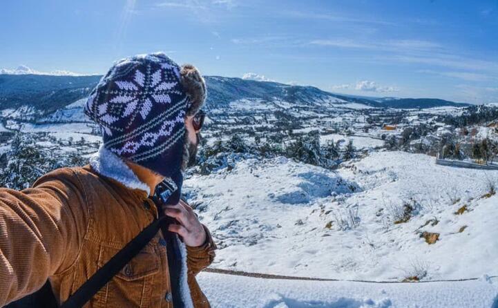 la neve riserva sempre paesaggi da sogno e proprio uno di questi pattada immortalata da gianluca gioia ( gianlucagioia88)