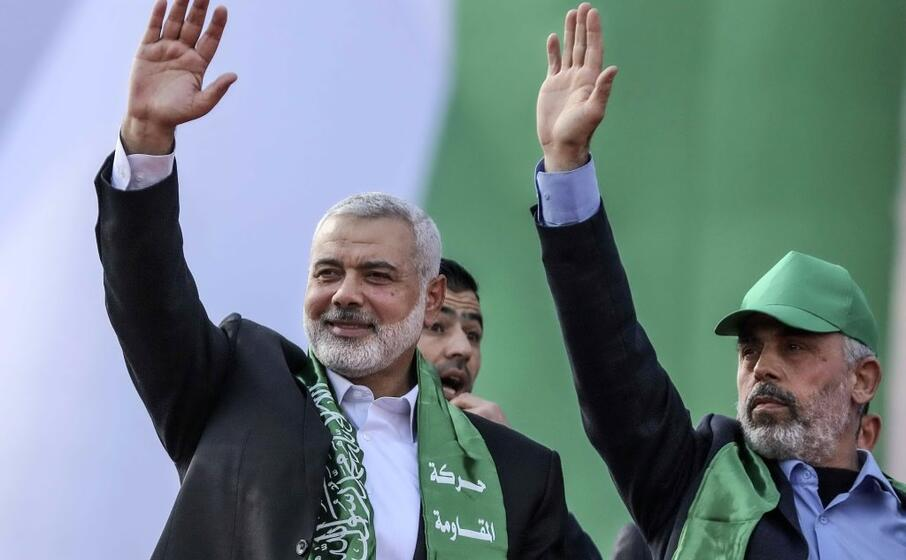 i due leader di hamas (ansa)