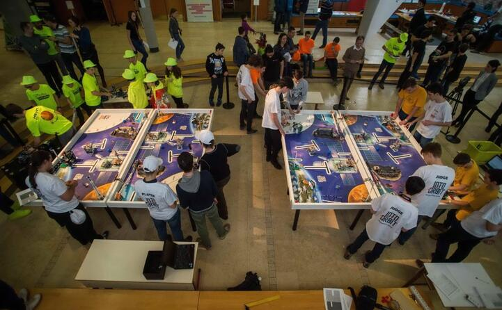 il lego robot contest a budapest
