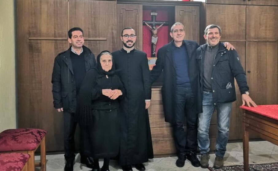 la sacrestia rinnovata a curcuris (l unione sarda pintori)