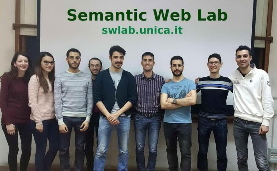 il team di cagliari del semantic web lab (foto unica)