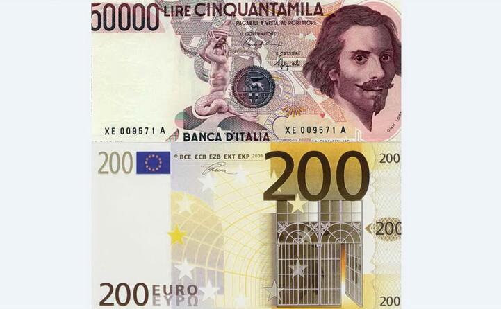 l entrata in vigore stata preceduta da un periodo di doppia valuta
