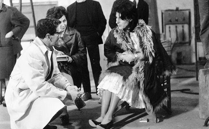con anna magnani (1962)