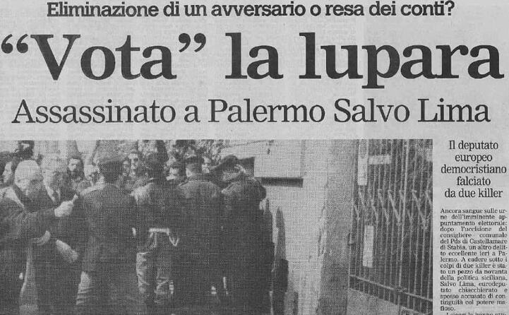 la prima pagina de l unione sarda del 13 marzo