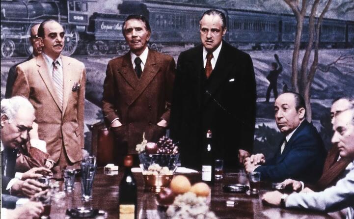 l incontro tra i capi delle famiglie mafiose