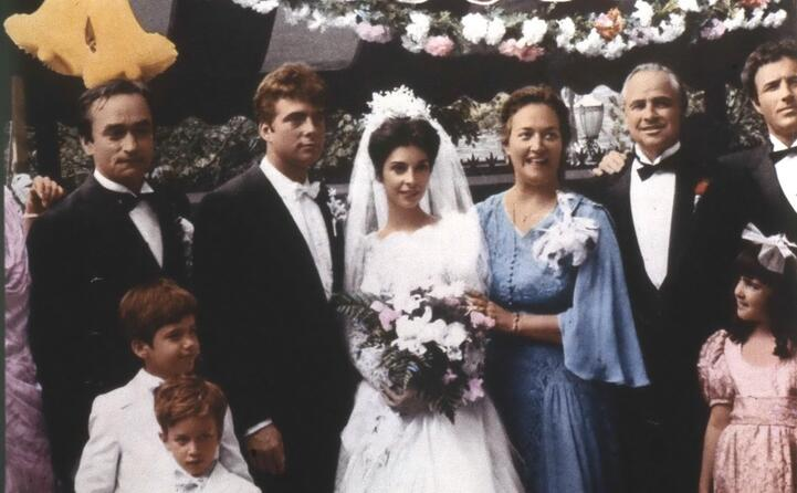 la famiglia corleone manca solo michael al pacino