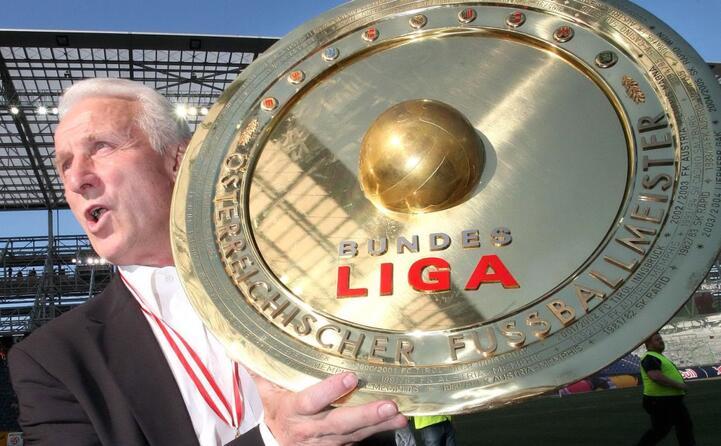 anche in austria con il salisburgo ha vinto il campionato