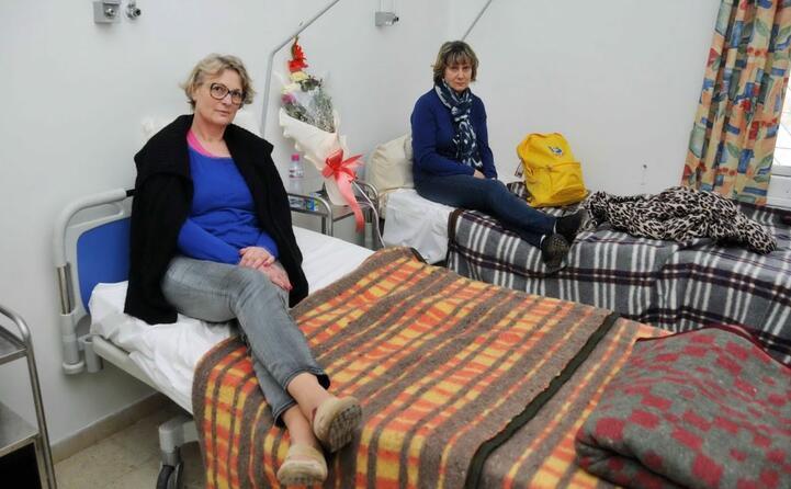 due donne ricoverate in ospedale dopo l attentato