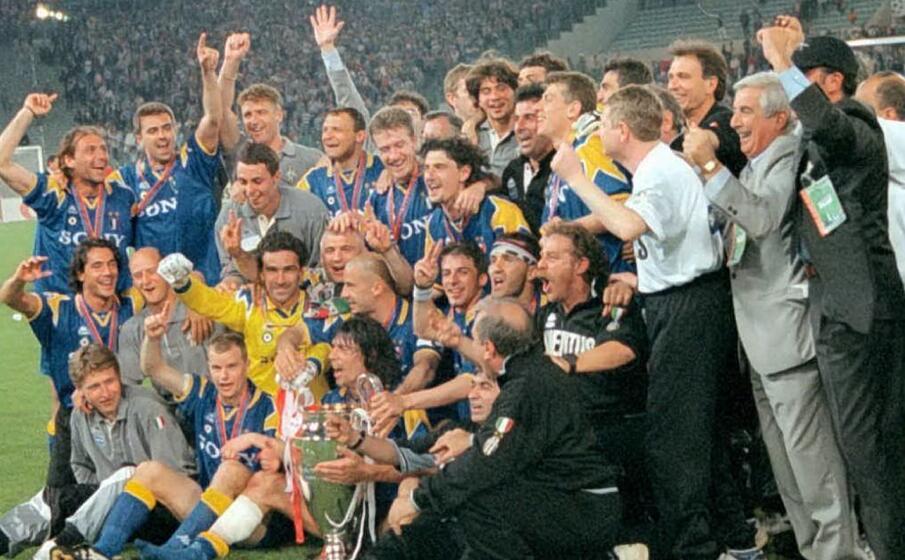 la juventus campione d europa 1996 (ansa)