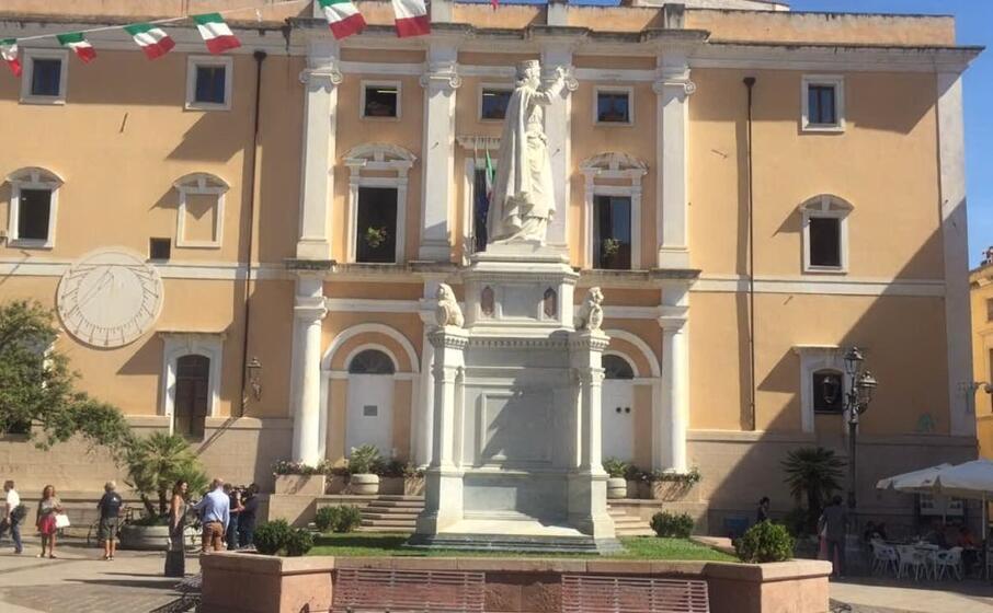 piazza eleonora (foto l unione sarda valeria pinna)