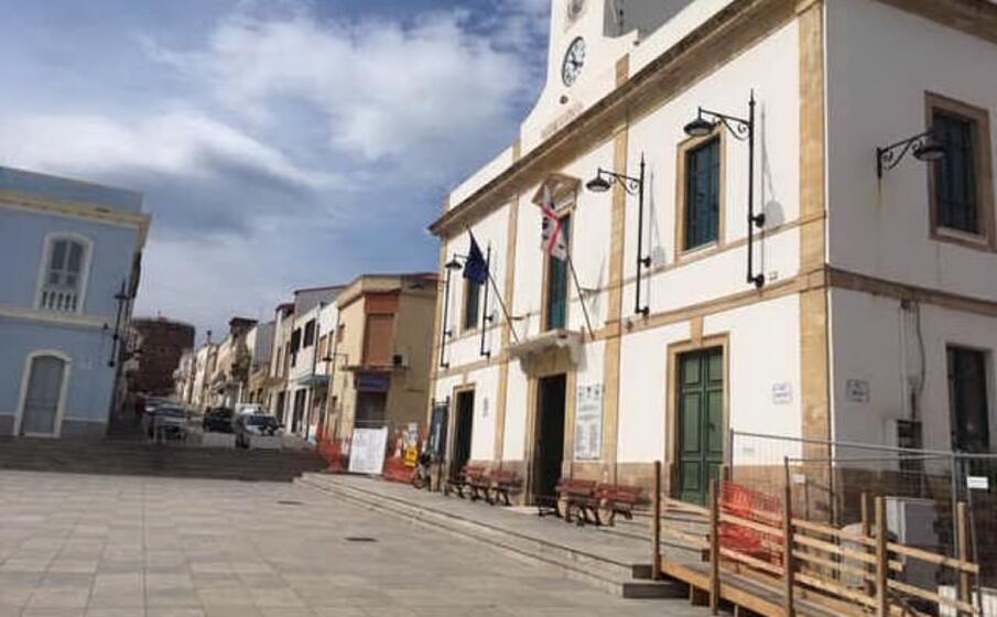 il municipio (foto l unione sarda scano)